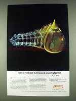 1978 Conoco Oil Ad - Nothing Permanent Except Change