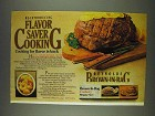 1978 Reynolds Brown-in-Bag Ad - Flavor Saver Cooking