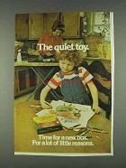 1978 Crayola Crayons Ad - The Quiet Toy