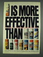 1978 Ban Roll-On Deodorant Ad - More Effective