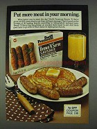 1978 Swift Premium Brown 'N Serve Sausage Ad