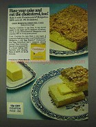 1978 Fleischmann's Margarine Ad - Have Your Cake