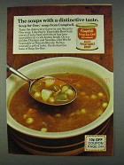 1978 Campbell's Soup for One Burly Vegetable Beef Ad