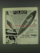 1978 Folbot Boats Ad - Superior Travel Craft