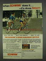 1978 Schwinn 5-speed Suburban Bicycle Ad - Done Right