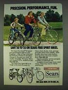 1978 Sears Free Spirit 10-Speed & MX Bicycles Ad