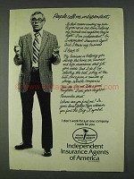 1978 Independent Insurance Agents of America Ad - Call Me