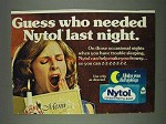 1978 Nytol Sleep Aid Ad - Guess Who Needed?