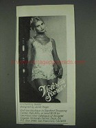 1978 Victoria's Secret Teddy by Janet Reger Ad