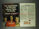1978 Tylenol Medicine Ad - I'm Responsible For