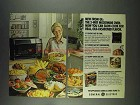 1978 General Electric 3-Way Microwave Oven Ad
