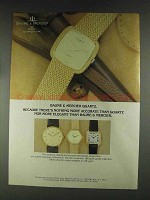 1979 Baume & Mercier Watches Ad - Nothing More Accurate