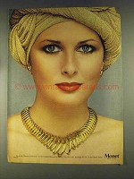 1979 Monet Illusion Collection Necklace and Earrings Ad