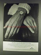 1979 Rolex Lady-Datejust Watch Ad - Virginia Wade