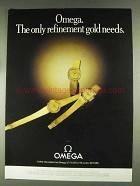 1979 Omega Watches Ad - BA8111146, BA8111142, BA8111114