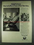 1979 JAL Japan Air Lines Ad - Helpfulness