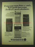 1979 W.H. Smith Calculator Ad - Casio FX3100, FX120