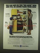 1979 General Electric TFF24RY Refrigerator Ad - Saver