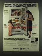 1979 General Electric TBFM-21VY Refrigerator Ad - Saver