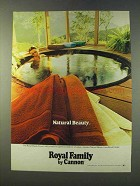 1979 Cannon Royal Classic Towel Ad - Natural Beauty