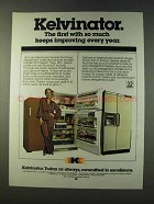 1979 Kelvinator Trimwall and Foodarama Refrigerators Ad