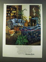 1979 Henredon Upholstered and Occassional Furniture Ad