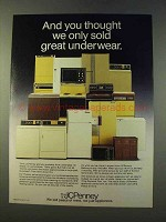 1979 JCPenney Appliances Ad - Thought We Sold Underwear