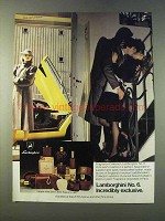 1979 Lamborghini No. 6 Cologne Ad - Exclusive