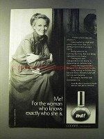 1979 Coparel Me! Perfume Ad - Woman Knows Who She Is