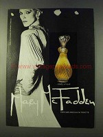 1979 Mary McFadden Perfume Ad -Totally Unique