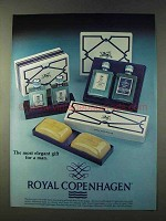 1979 Royal Copenhagen Cologne and Soap Ad