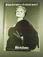 1979 Blackglama Fur Ad - Angela Lansbury
