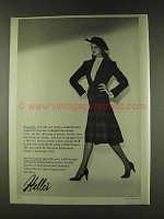 1979 Bill Blass Blassport Jacket, Skirt and Blouse Ad