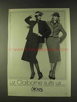 1979 Liz Claiborne Fashion Ad - All Occasion Suit