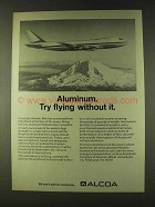 1979 Alcoa Aluminum Ad - Try Flying Without It