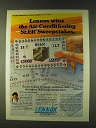 1979 Lennox HS13 Landmark III Air Conditioner Ad
