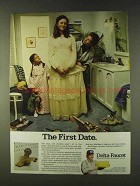 1979 Delta Faucets Ad - The First Date
