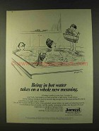 1979 Jacuzzi Athena Whirlpool Bath Ad - In Hot Water
