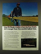 1979 St. Regis Lumber Ad - Two-By-Four Longer