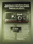 1979 Panasonic Command Series RF-4900 Radio Ad