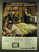1979 Pye Television Ad - Whose Idea to Put in Bedroom