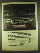 1979 Pye 2300 Car Stereo Radio Cassette Player Ad
