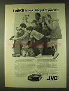 1979 JVC TWINCH TV/Radio Ad - Keep it To Yourself