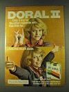 1979 Doral II Cigarettes Ad - Only 5 mg Tar