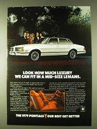 1979 Pontiac Grand LeMans Ad - How Much Luxury