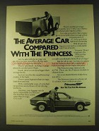 1979 Austin Morris Princess Car Ad - Compared
