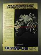 1979 Olympus OM-10 Camera Ad - More Advanced