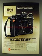 1979 Leica R3-MOT Camera Ad - Most Rugged