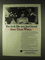 1979 Dean Witter Reynolds Ad - You Just Heard From