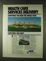 1979 AMI American Medical International Ad - Delivery